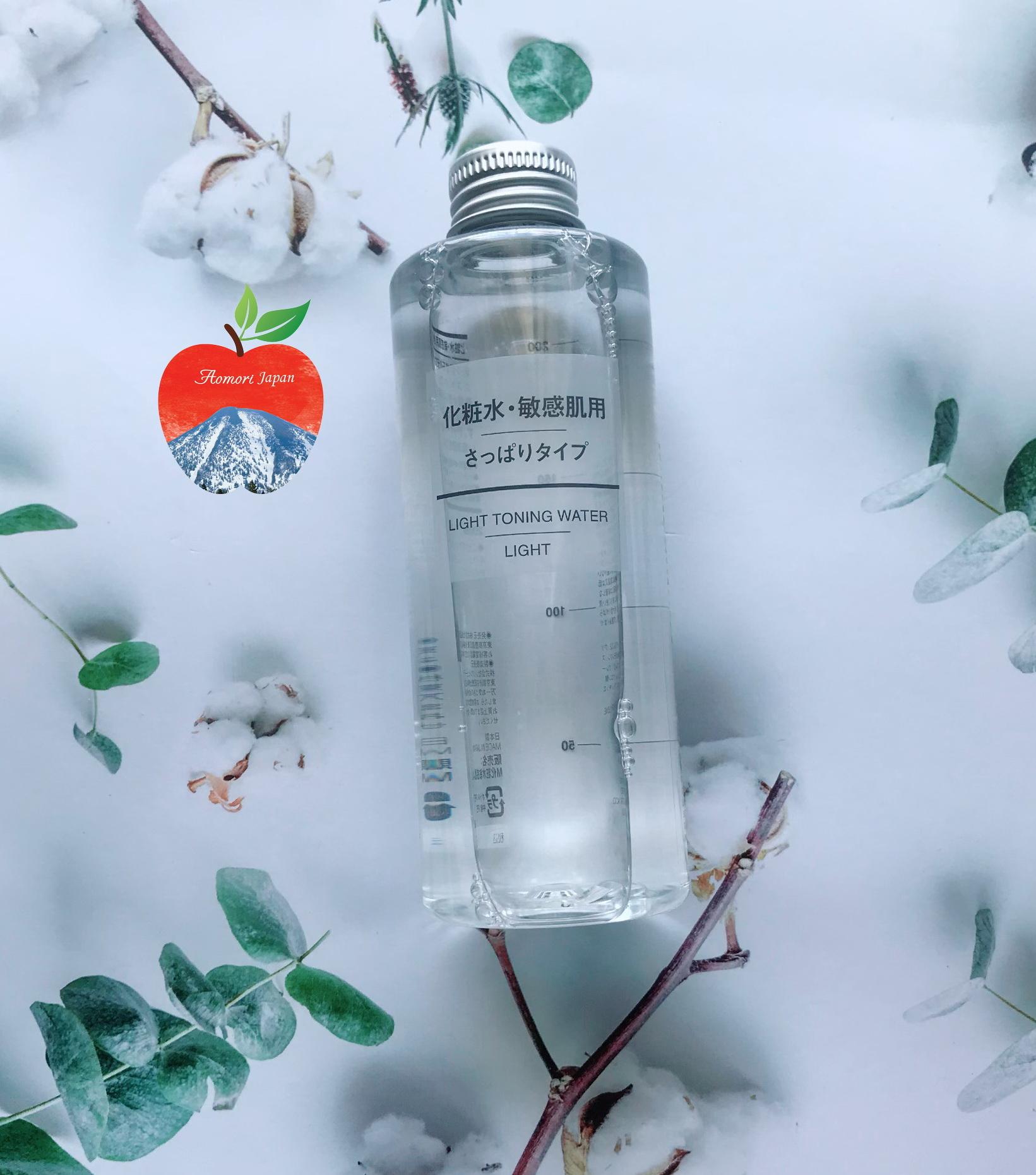 Nước hoa hồng Muji Light Toning Water 200ml Nhật Bản