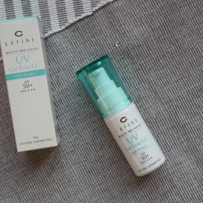 Nhũ tương che khuyết điểm dưỡng da UV Cut Ecru CC Cefine SPF 50PA+++